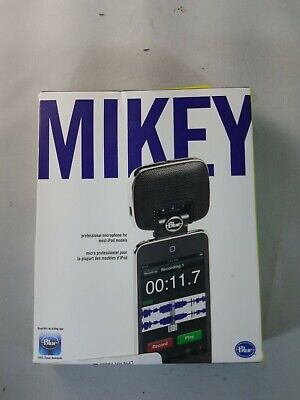Blue Mikey iPhone iPod good quality recording audio microphone mic