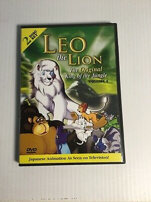 Leo the Lion, King of the Jungle - Volume 1 and Volume 2 DVD, 2003, 2-Disc Set)