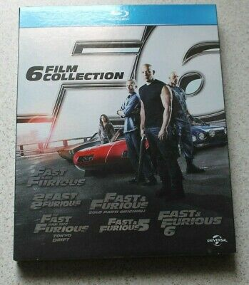 Fast And Furious 6 Film Collection - Cofanetto Blu-Ray Disc - Offerta
