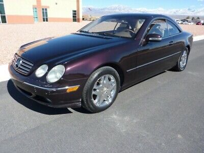 2000 Mercedes-Benz CL-Class  2000 MERCEDES BENZ CL500 COUPE DESIGNO SERIES 109000 MILES ONE CALIFORNIA OWNER