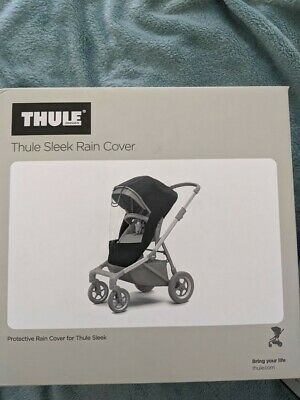 New Thule SLEEK Rain Cover  Baby/Child Pushchair Stroller Accessory
