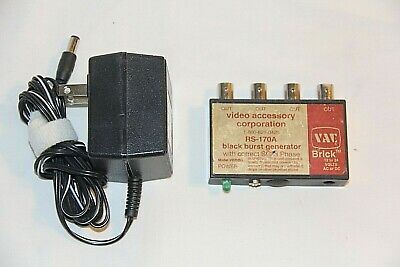 VAC Brick RS-170S Black Burst Generator