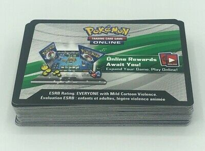 50x Pokemon XY Sun and Moon Base UNUSED CODE CARDS FAST DELIVERY