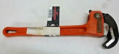 "NEW!! RIDGID Cast Iron 14"" Rapid Pipe Wrench, 2"" Jaw Capacity, 10358"