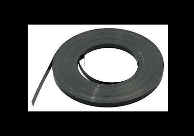 "NEW Steel Strapping, Steel, Black, 5/8"" Strapping Width, 0.020"" Strapping Thick"