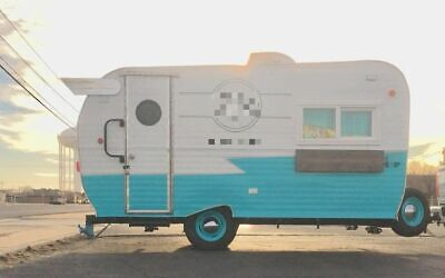 Vintage Shasta 8' x 14'  Coffee Trailer/Mobile Cafe w/ 2017 Remodel for Sale in