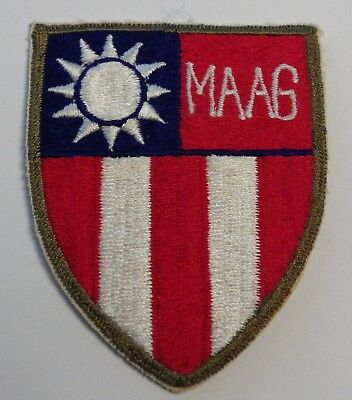 Vintage Original MAAG Formosa  Military Assistance Advisory Group FREE SHIPPING!