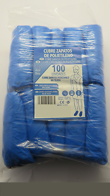 100x PROFESSIONAL DISPOSABLE POLYETHYLENE SHOES COVER BOOT HYGIENIC FOOD MEDIC