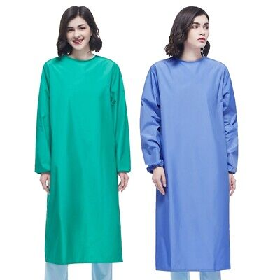 Women Men Surgical Gown Isolation Gown Protective Workwear Doctor Nurse Uniforms
