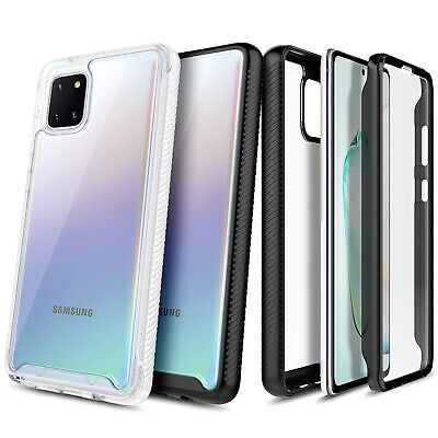 For Samsung Galaxy Note 10 Lite / A81 Case Slim Built-In Screen Protector Cover