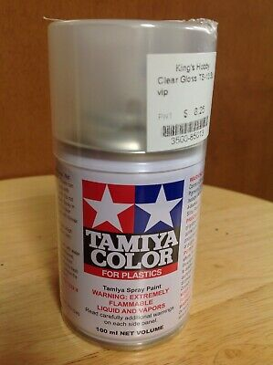 KHS - TAMIYA COLOR ITEM #TS-13 CLEAR SPRAY PAINT 100ml CAN