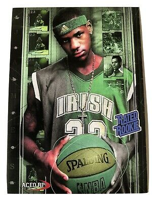 Lebron James High School Rated Rookie Card 🎉🎉