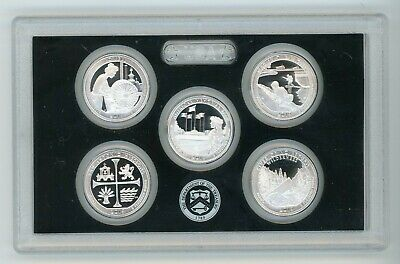 2019 Silver Quarter America The Beautiful National Parks Proof Set