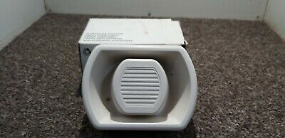 New old stock white Oval fire alarm adressable sounder AN54/W