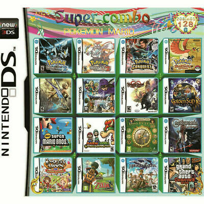208 in 1 Game Cartridge Video Game Card Support DS NDS NDSL NDSi 2DS 3DS 3DSLL