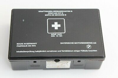 *Bmw Genuine First Aid Kit B Part Number: 1 859 303