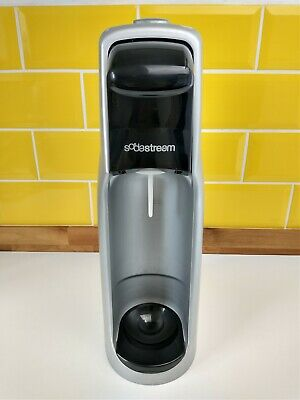 Soda Stream Jet Sparkling Water Maker SodaStream Fizzy Drink Black Silver