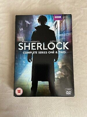 Bbc Sherlock Holmes Complete Series One And Two Dvd Set