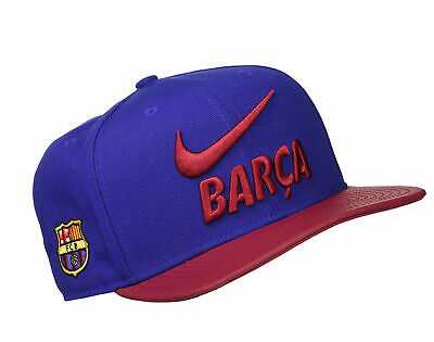 Nike AUTHENTIC FC BARCELONA AEROBILL CLASSIC 99 Mens Hat CAP BRAND NEW WITH TAGS