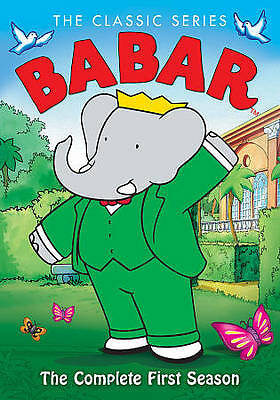 Babar: Classic Series The Complete First Season (2-DVD Set, Region 1) Very Good!