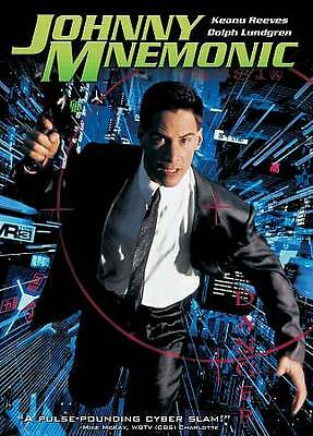 Johnny Mnemonic (DVD, Region 1) Very Good condition from personal collection!