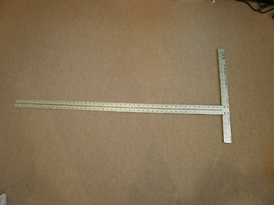 "Wallboard Tool Co Inc drywall 48"" T square ruler 1/8"" level, NO SHIPPING, LOCAL"