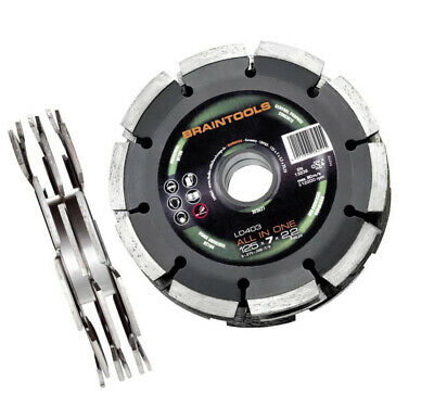 Rhodius 125mm 3-Blade Diamond Disc System for Wall Chasers