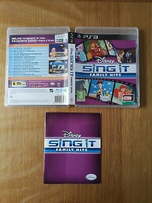 Sing It : Family Hits, Original Case & Manual ONLY, PS3 (No Game)