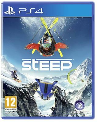 STEEP Extreme Sports PS4 Game NEW SEALED UK PAL for Sony Playstation 4 SNOW ICE