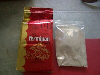 50g Fermipan Red Instant Dried Yeast  Baking Bread Dough Catering  Free  P+P