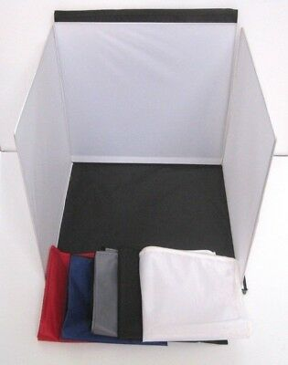 Adorama Flashpoint Photography Studio Lighting Tent Box Backdrop Case & 5 Colors