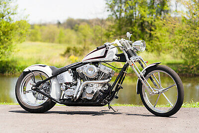 2012 American Classic Motors Chopper  2012 American Classic Motors Prostreet Custom Rigid Chopper Bobber Down n' Dirty