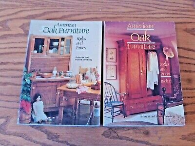 American Oak Furniture Styles and Prices Book 1 & 2 Robert & Harriet Swedberg