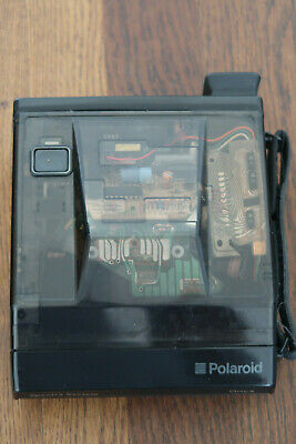 Polaroid Onyx Spectra System Limited Edition Transparent Camera Classic And Case