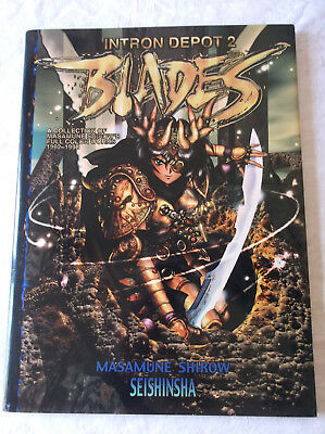 Intron Depot 2 - Blades : Shirow Masamune Works Illustrations Art Book U.S. ed.