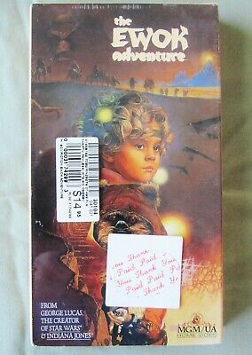 The Ewok Adventure VHS George Lucas Star Wars 1984 Home Video BRAND NEW SEALED