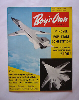 Vintage Boy's Own October 1964 Magazine Paper - Very Good Condition