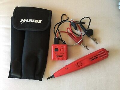 Harris Pro3000 Probe & Toner No. 26100-900 26200-900 with Carrying Case