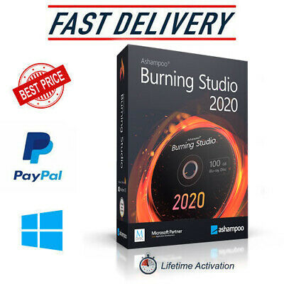 Ashampoo Burning Studio 21.5✔️2020✔️Full Version✔️Lifetime Licence Key✔️Windows✔