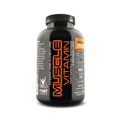 Net Muscle Vitamin - 120Cpr