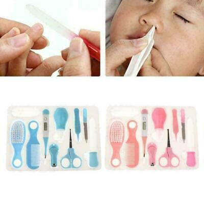 10pcs Baby Health Care Set Nail Hair Brush Thermometer Kids Grooming C H1E2 D0Z4