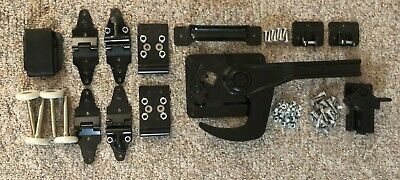 Whiting Style Complete Bottom Panel Repair Kit w/Hinges, Rollers, Lock & Keeper
