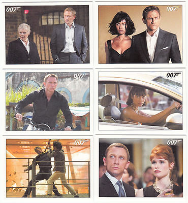 James Bond 2015 Archives Complete Set Quantum of Solace  (1-90)