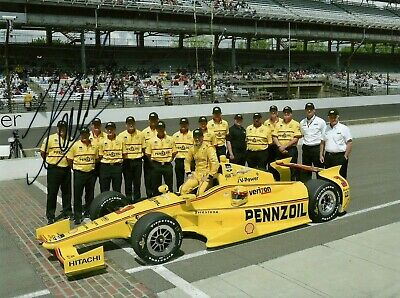 Helio Castroneves Penzoil Indy Indianapolis 500 winner 2001 photo F1 test driver