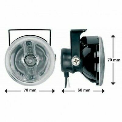 Ring BRL0382 Compact Cruise-Lite Round Driving Lamps Light Fog (2 included)