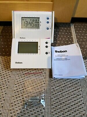 Thermostat digital mural programmable Theben Ram 797 N, New / Neuf