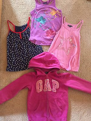 Gap Girls Tank Top Hoodie Sweatshirt Hoodie Pink Purple Lot Size Med Medium M 8