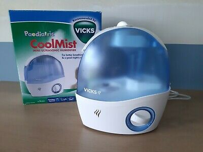 Vicks Pediatric Cool Mist Humidifier for Small Rooms (1 ct