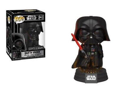 Funko Pop! Star Wars DARTH VADER Electronic 343 New In Box Free Shipping!