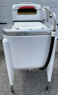 MAYTAG ANTIQUE Vintage WASHING MACHINE model E2L 100% FULLY OPERATIONAL 1950s